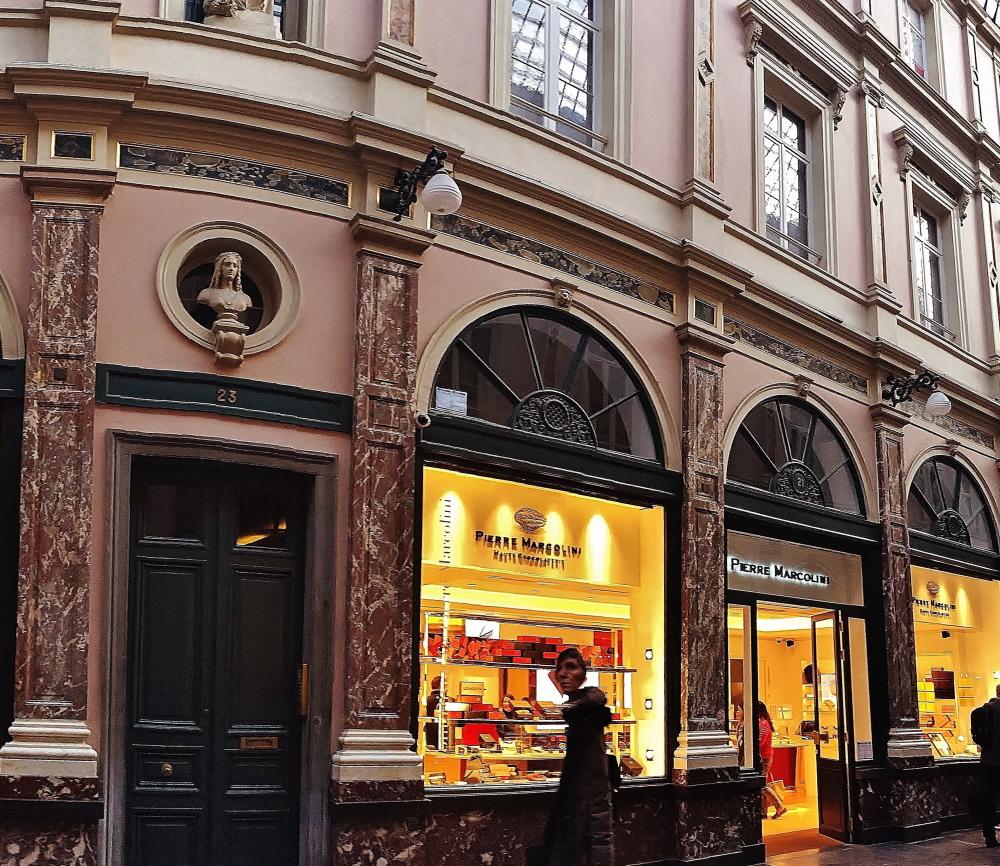 ベルギーのピエーリマルコリーニ店舗