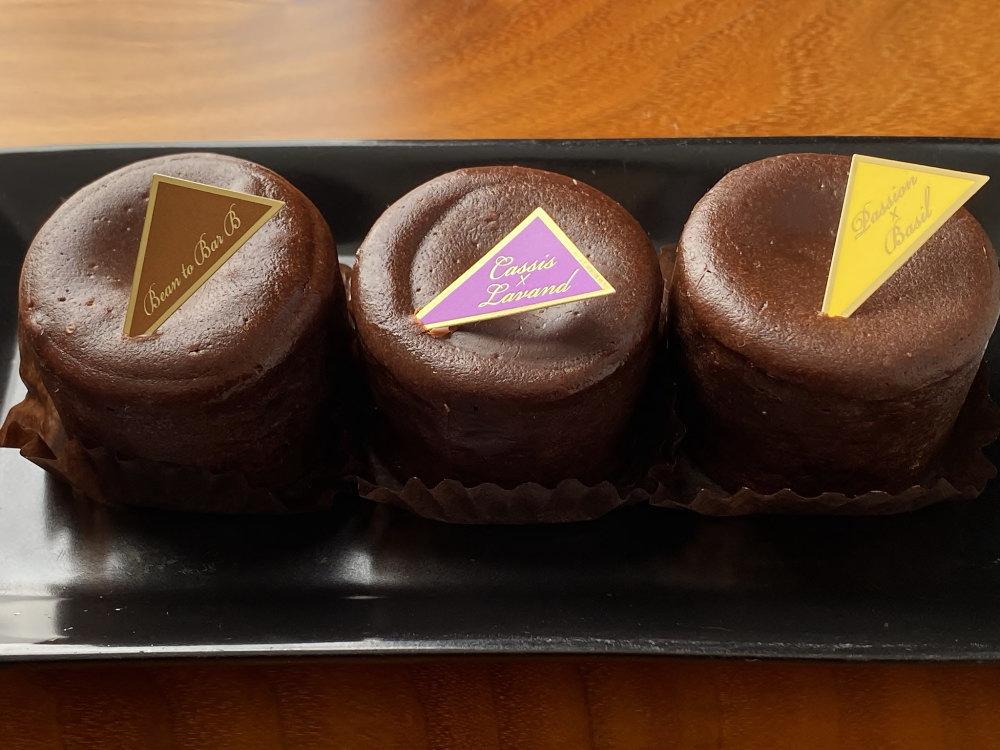 プレスキルショコラトリーのフォンダンショコラ3種類