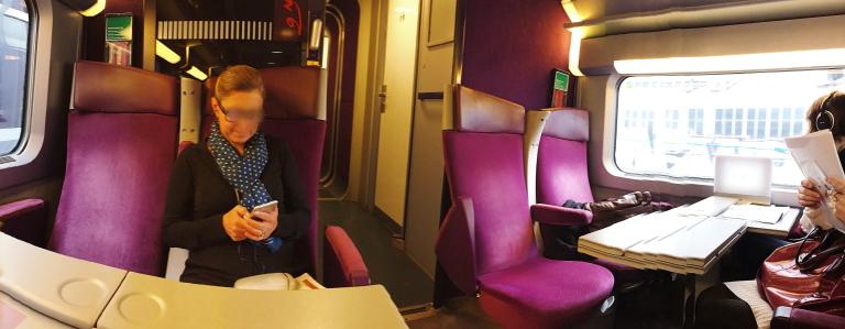 ヨーロッパ タリス 車内 座席 写真