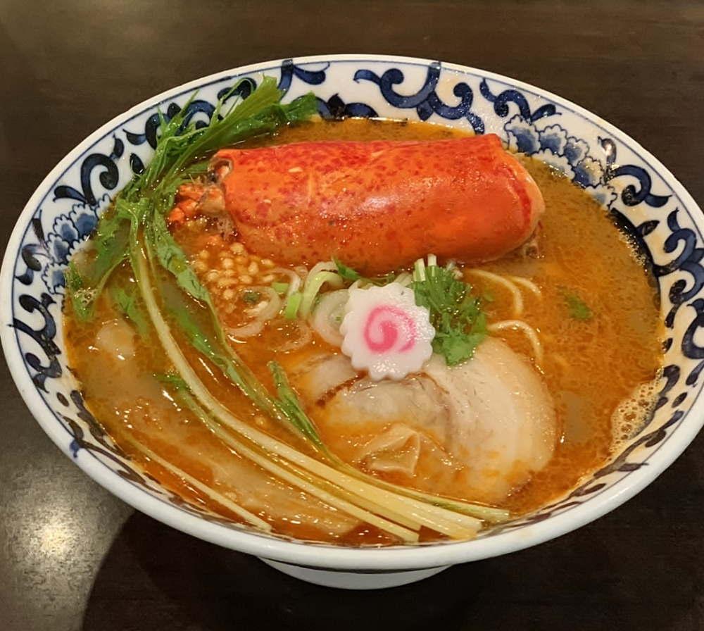 東京駅 斑鳩 オマール海老だし らー麺