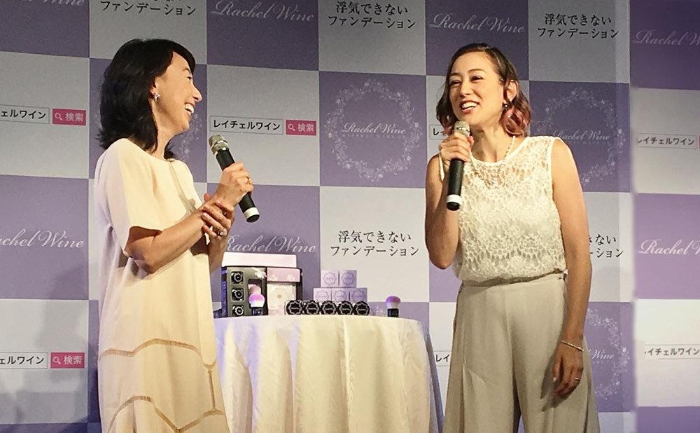 東尾理子さん、SHELLYさん