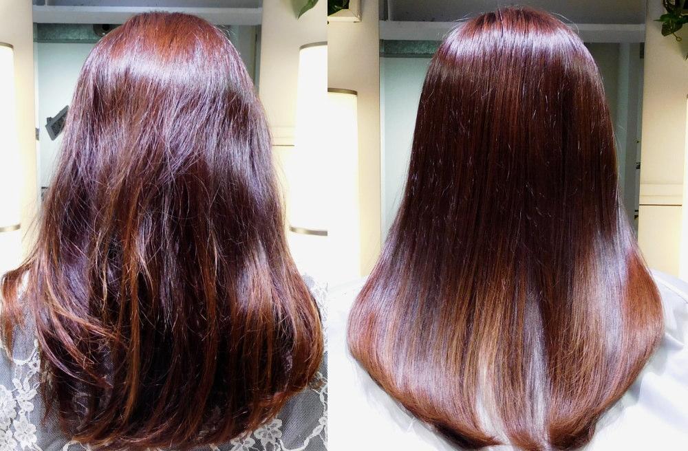 美髪サロン 体験 ビフォーアフター