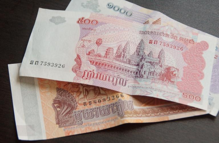 カンボジアの通貨 リエル