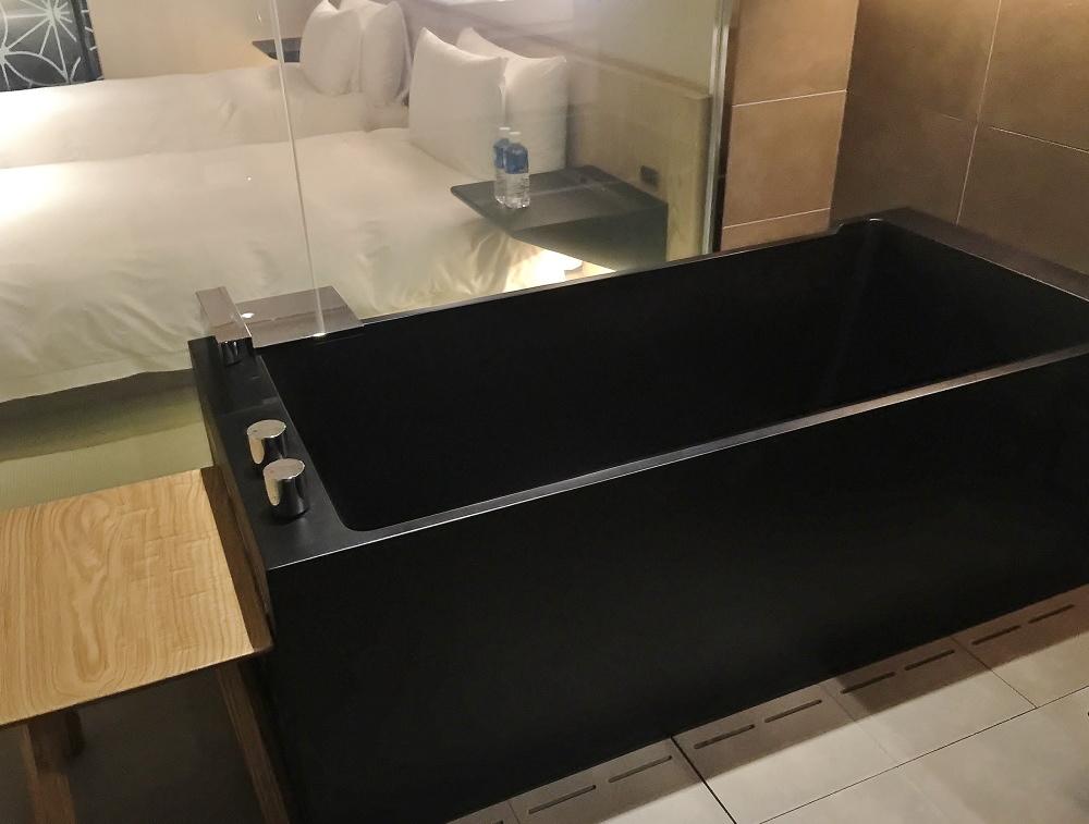 星のや東京 客室 風呂