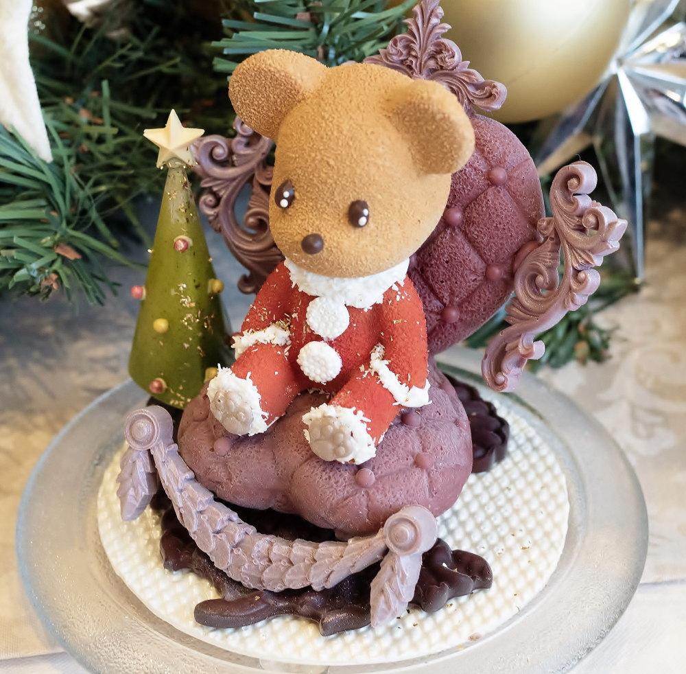 """「クリスマスチョコレート""""ベアーサンタ""""」"""
