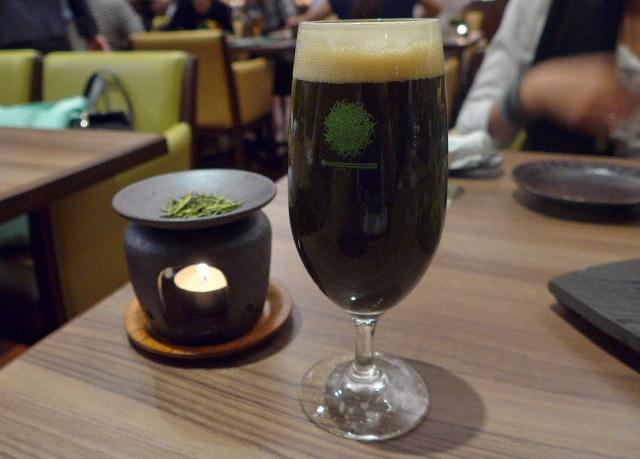 抹茶黒ビール