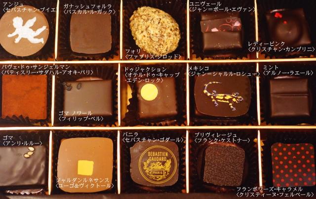 伊勢丹 サロンデュショコラ セレクションボックス 中身 ブランド