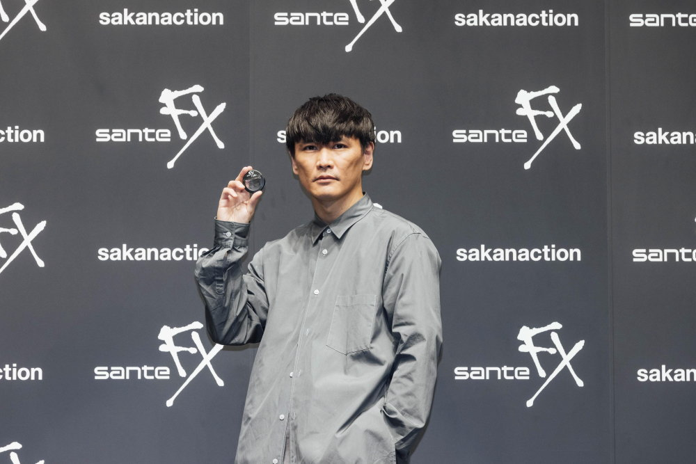 サンテFX サカナクションCM発表会