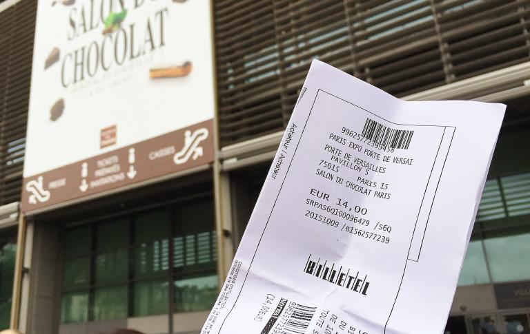 サロンデュショコラ チケット 値段