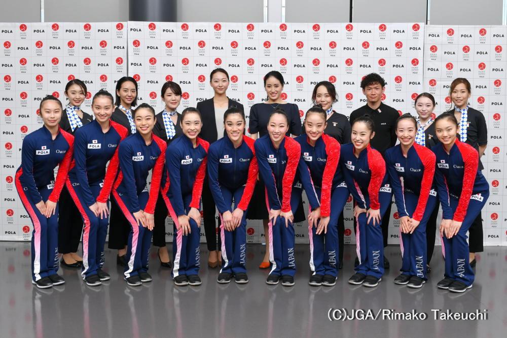 新体操日本代表「 フェアリー ジャパン POLA 」団体の2021年