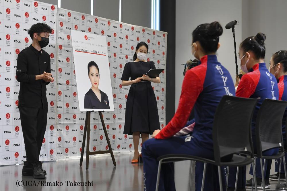 新体操日本代表「 フェアリー ジャパン POLA 」団体の2021年 講習会