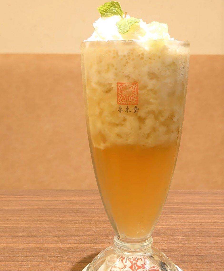 新シリーズ「果肉茶」第1弾「果肉茶メロン」