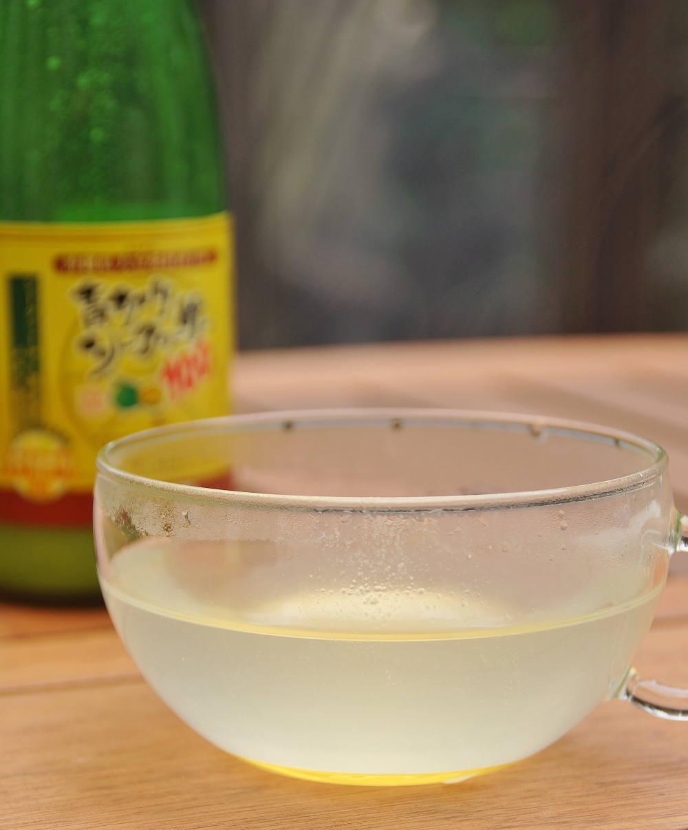 青切りシークヮーサー ブログ 蜂蜜 ホット