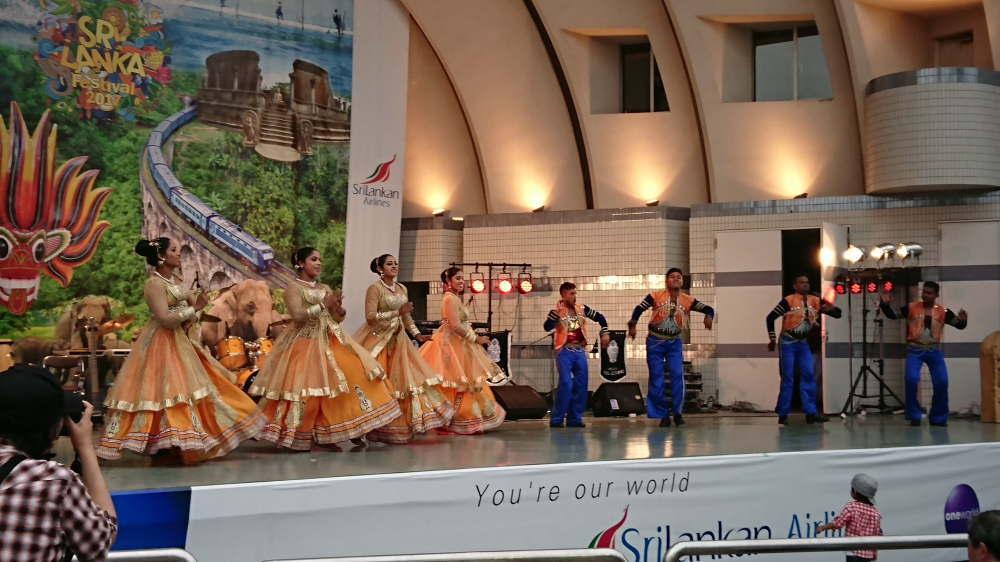 スリランカフェスティバル 伝統舞踊