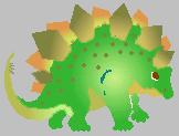 タプローム ステゴザウルス