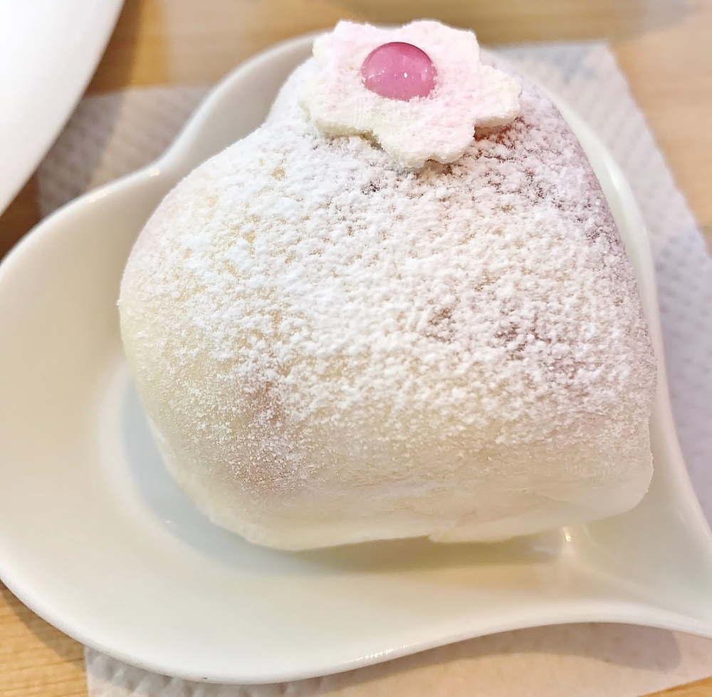 ラブリーアイスクリーム「はーとのもちあいす〜桜餅〜」