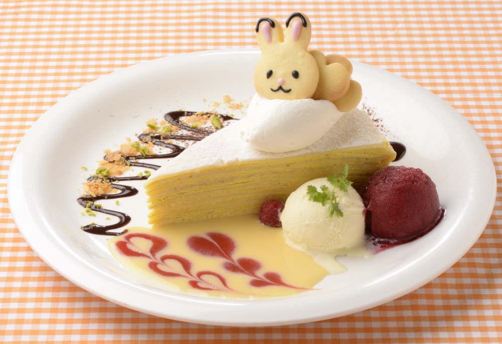 メルシークレープ 「ショコラウサギのハロウィンミルクレープ」