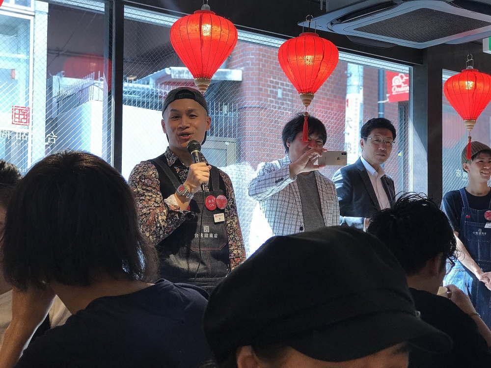 台湾甜商店 管 社長