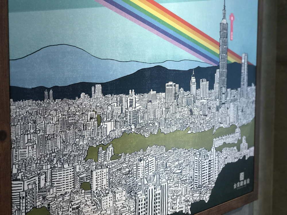 台湾 台北の景色 台北101