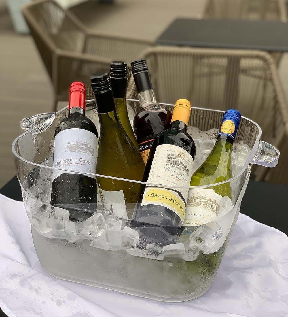高島屋ビアガーデン ワイン
