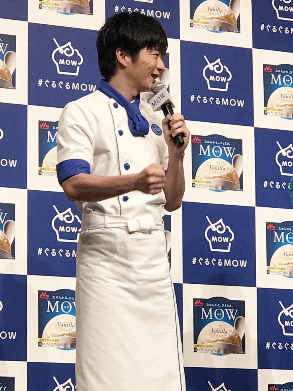 MOWの美味しさについて語る田中圭