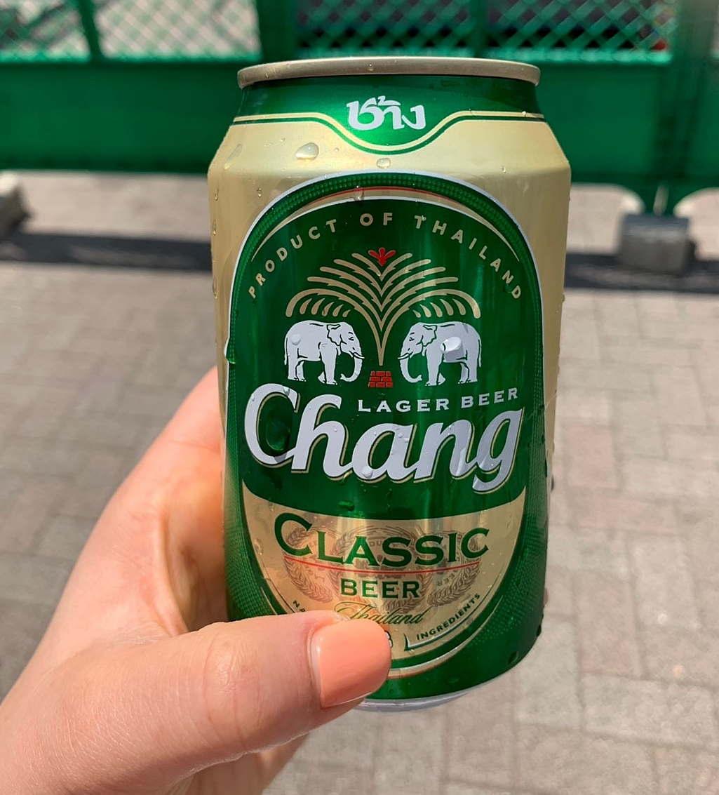 タイフェスティバルで飲んだビール