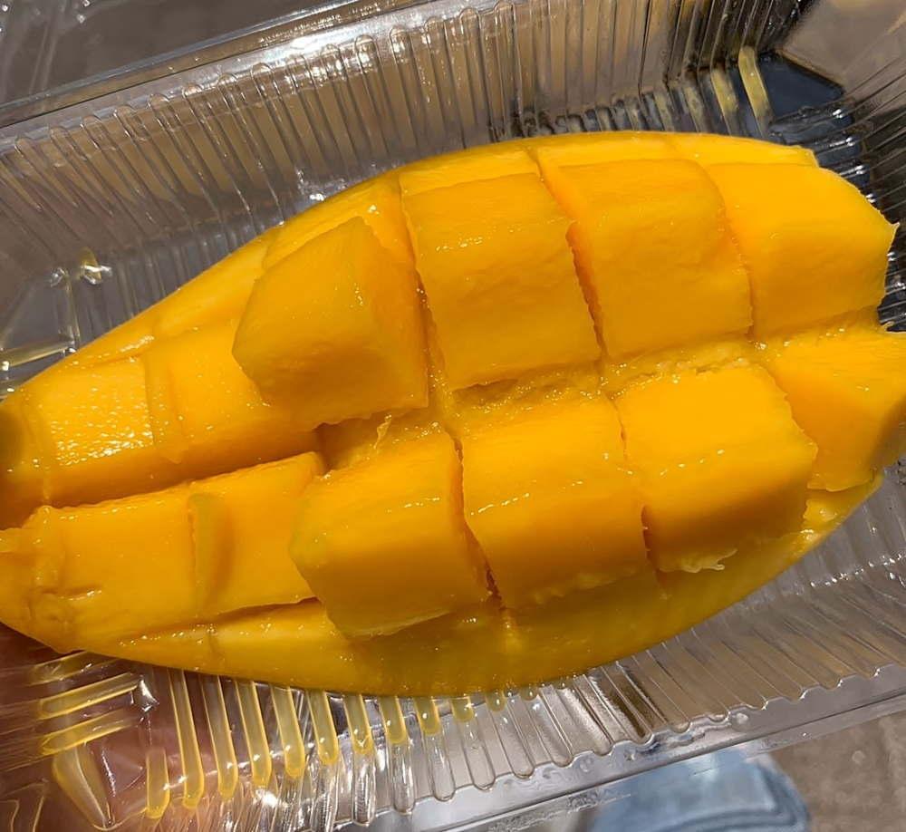 タイフェスティバルで食べたマンゴー
