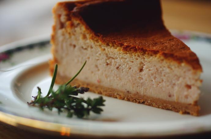 いちごのチーズケーキ