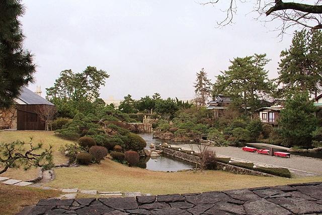 鳥取 米子 皆生温泉 庭 写真