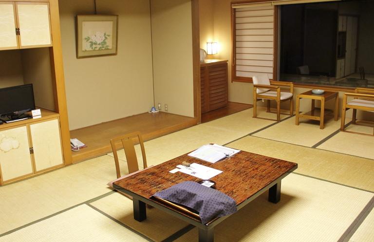 鳥取 米子 皆生温泉 部屋 写真