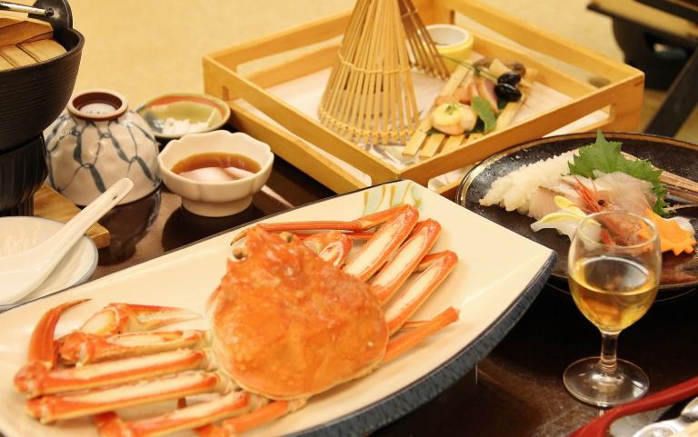 鳥取 米子 皆生温泉 食事 写真
