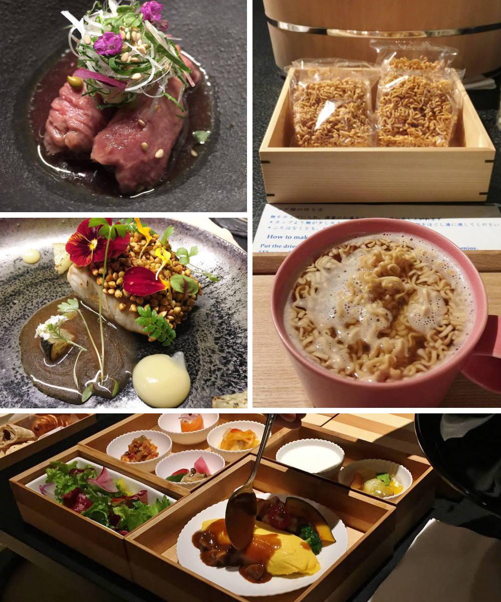 星のや東京 食事