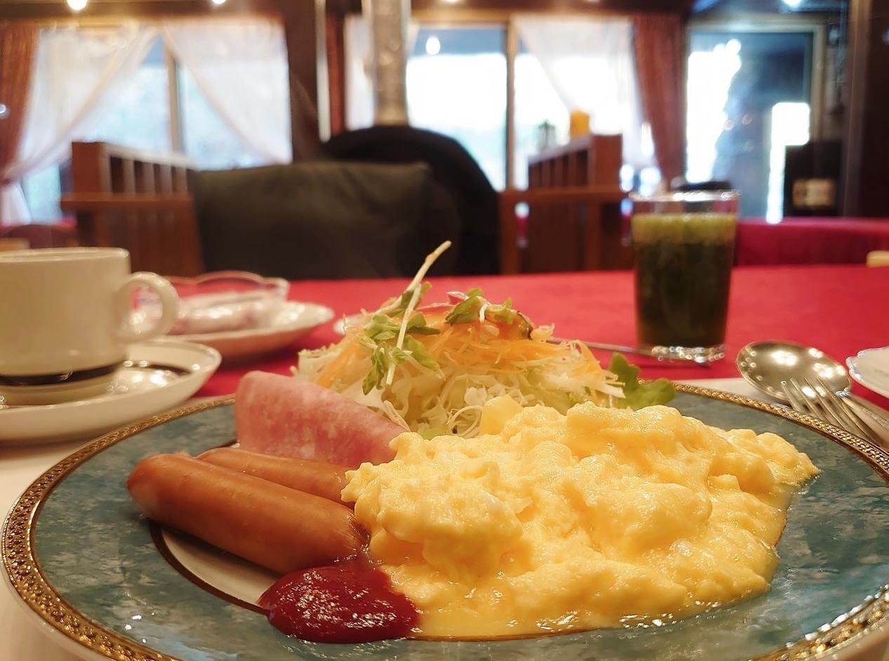 燕ハイランドロッジ 朝食