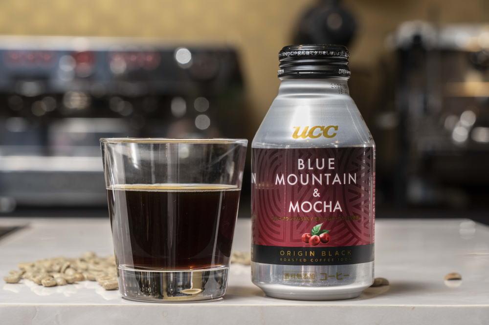 UCC ORIGIN BLACK ブルーマウンテン&モカ