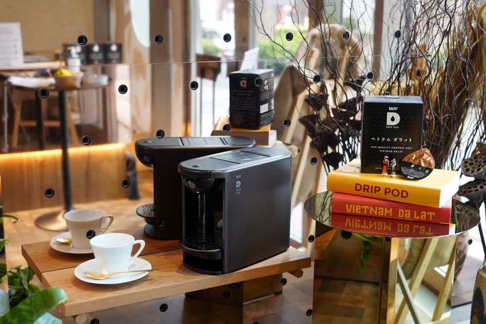 UCCのカプセル式ドリップコーヒーシステム「ドリップポッド」