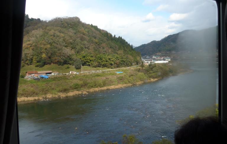 三江線からの眺め