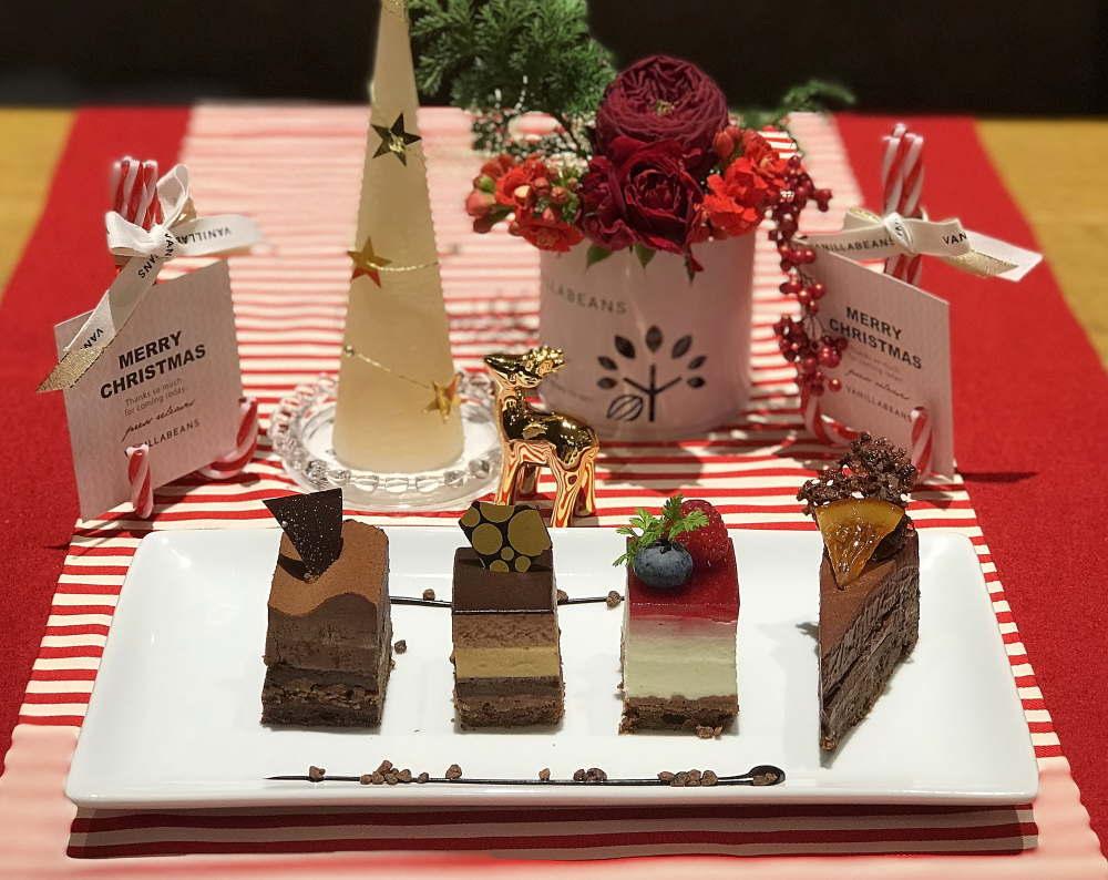 バニラビーンズ クリスマスケーキ
