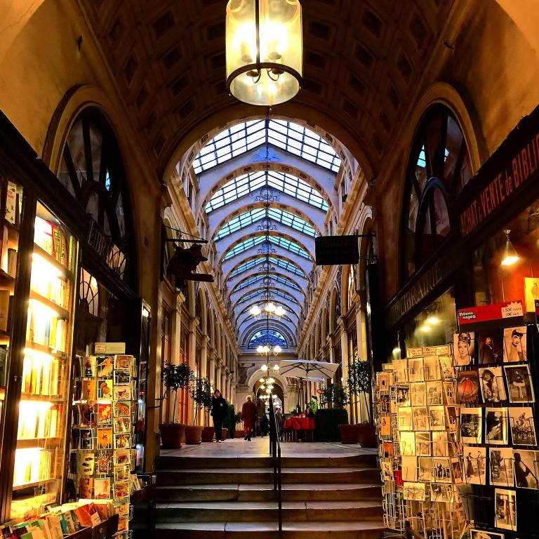 フランス一美しい商店街 入口