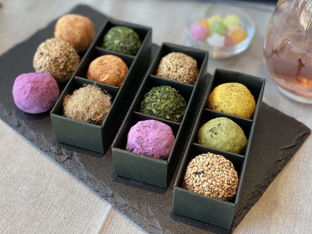 色んな種類の味噌玉