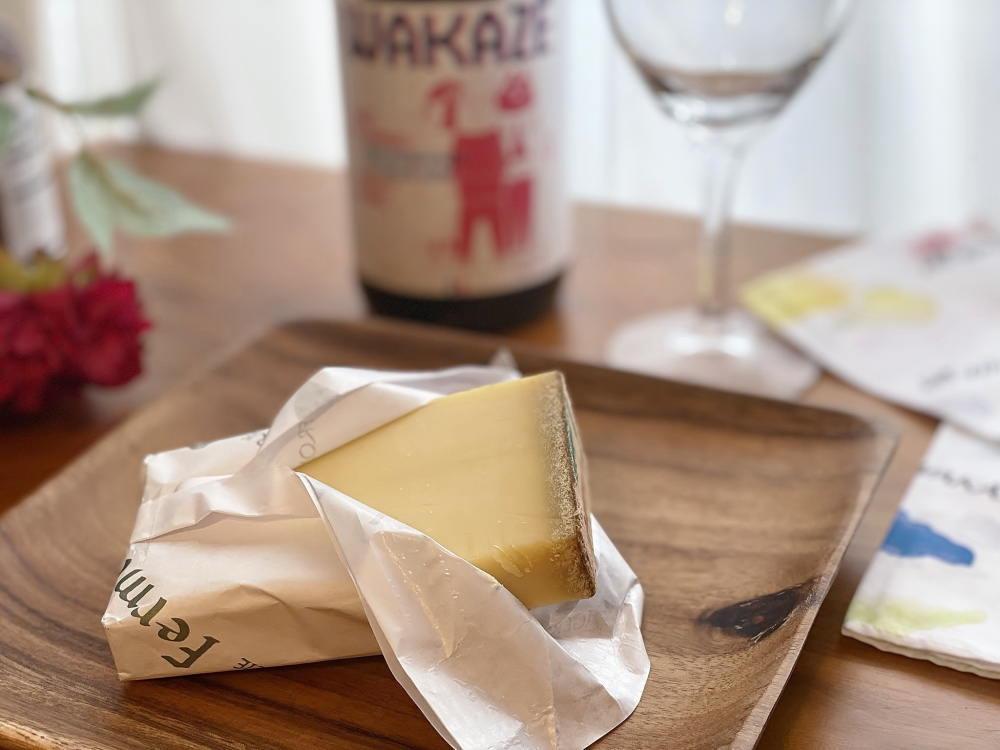 コンテチーズと日本酒のマリアージュ