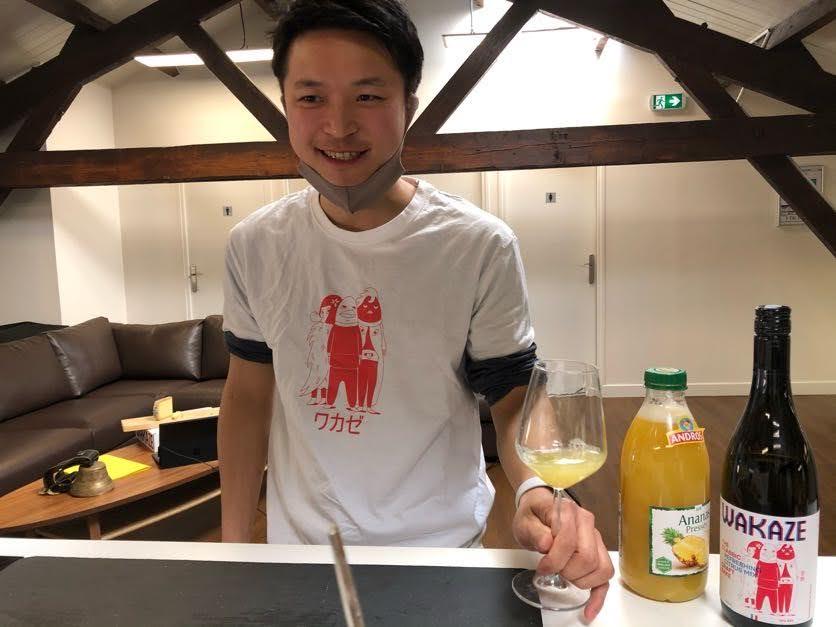 今井杜氏のオリジナルカクテルレシピ