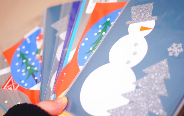 クリスマスカードを安く買う方法