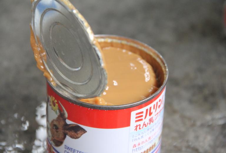 コンデンスミルク 缶 生キャラメル 作り方
