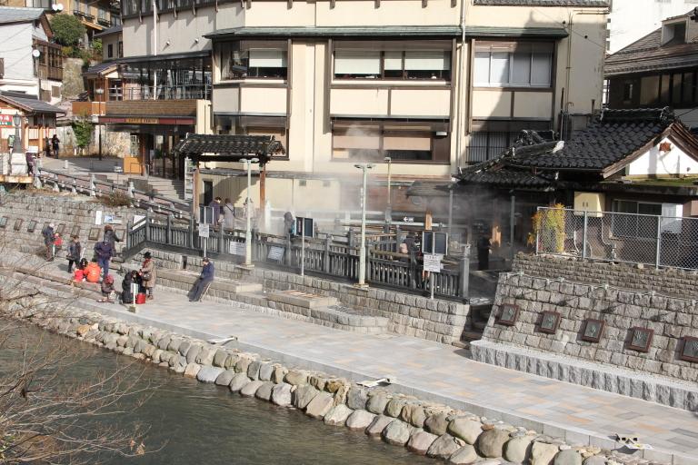 湯村温泉 景色 画像