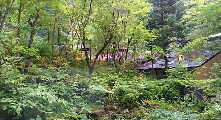 ホテル湯西川 外観