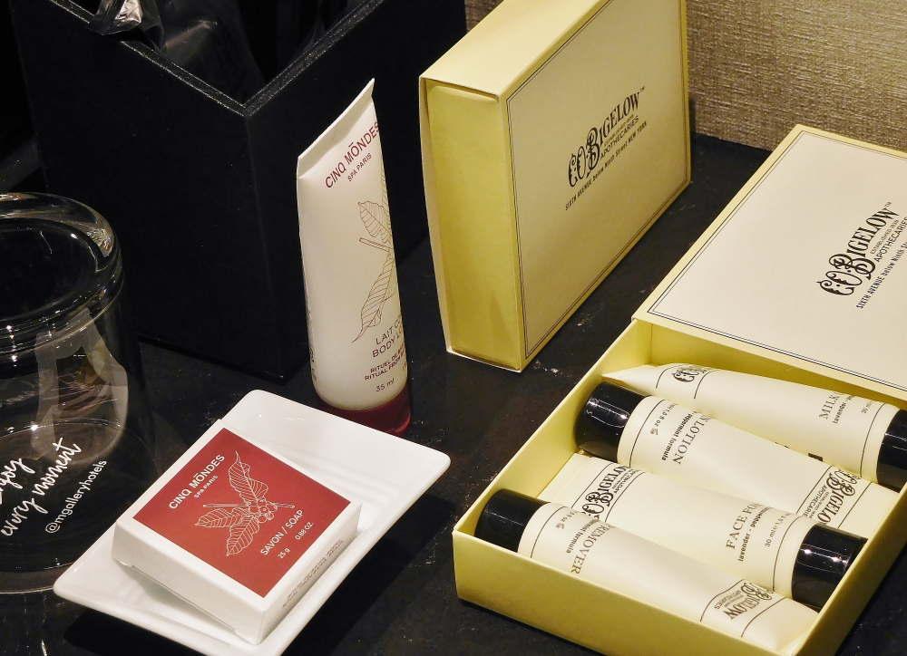 京都悠洛ホテル Mギャラリーのアメニティはシーオービゲロウ