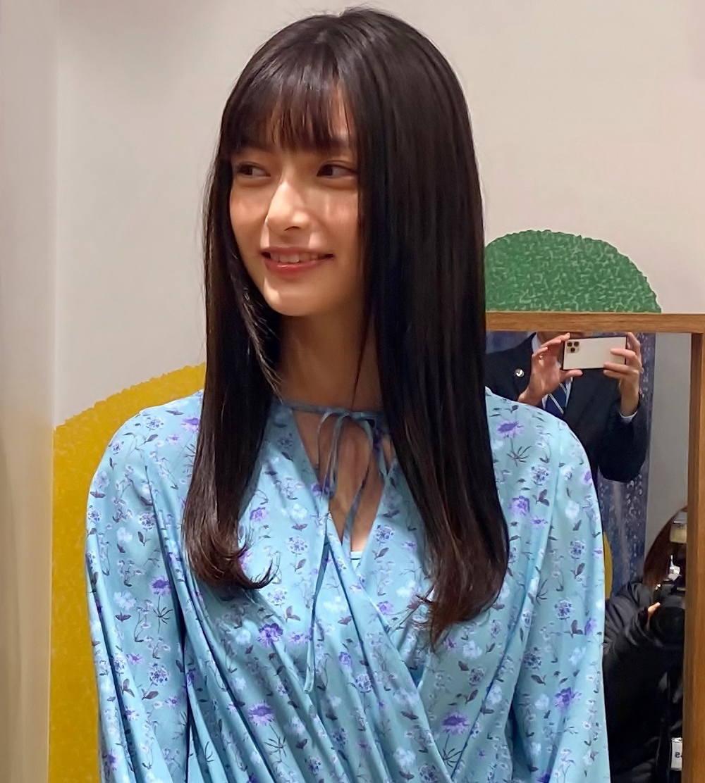 モデルの中澤瞳さん