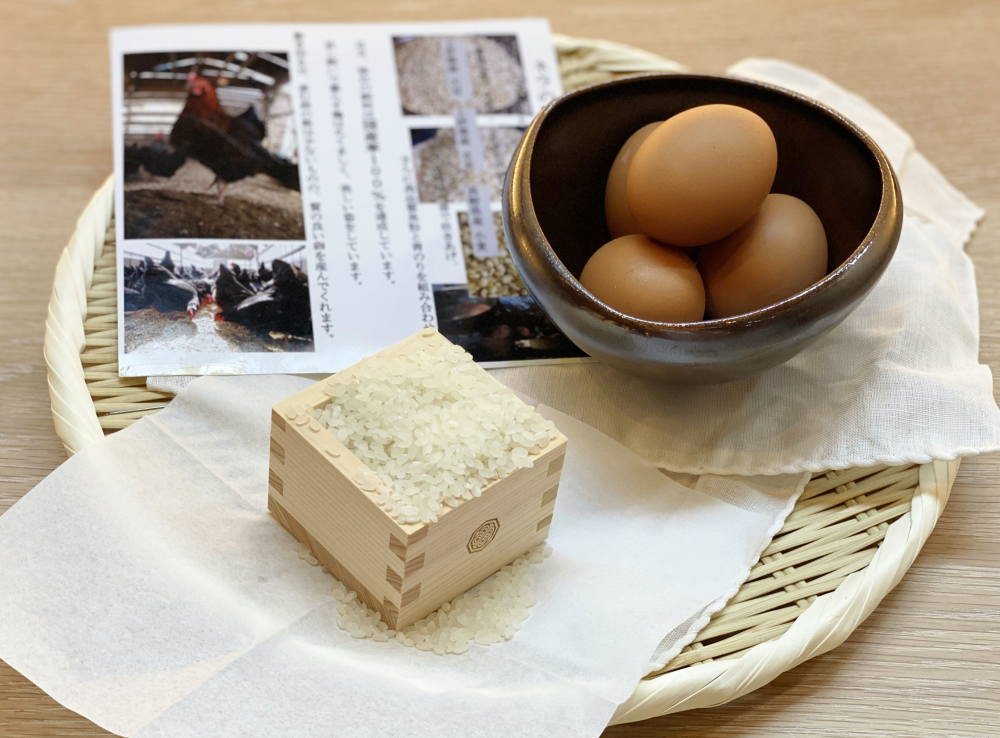 zen こだわりの卵とお米