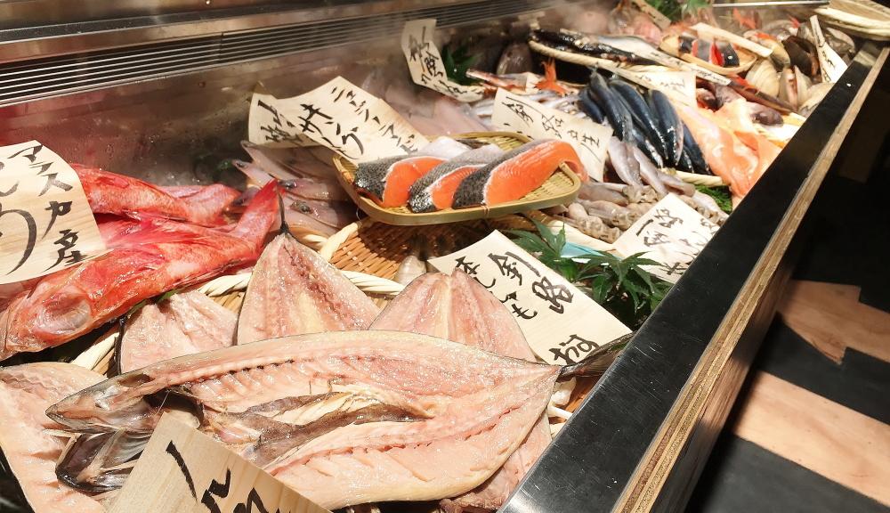 銭函バーベキュー 素材 魚