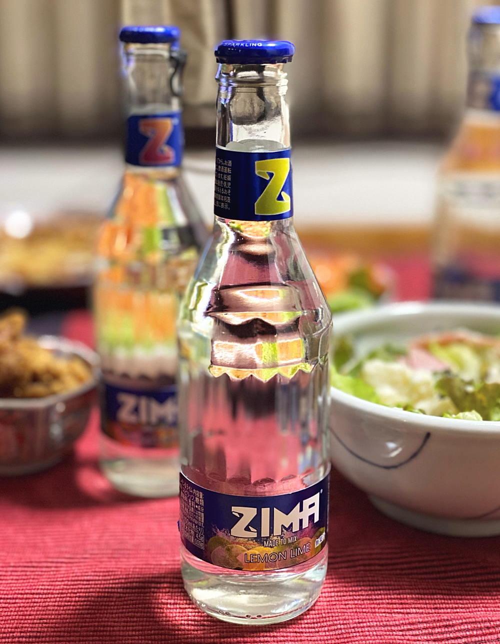ZIMA 食事に合わせてみた